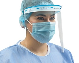 Optec® Sustainable Biomaterial Face Shield System
